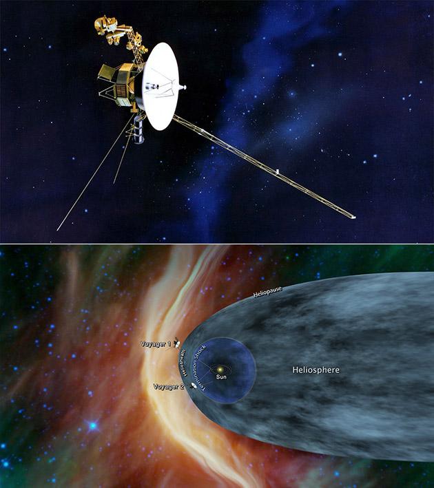 NASA Voyager 2 Edge of Space