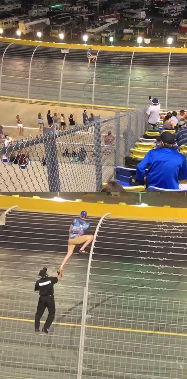 NASCAR Race Fail