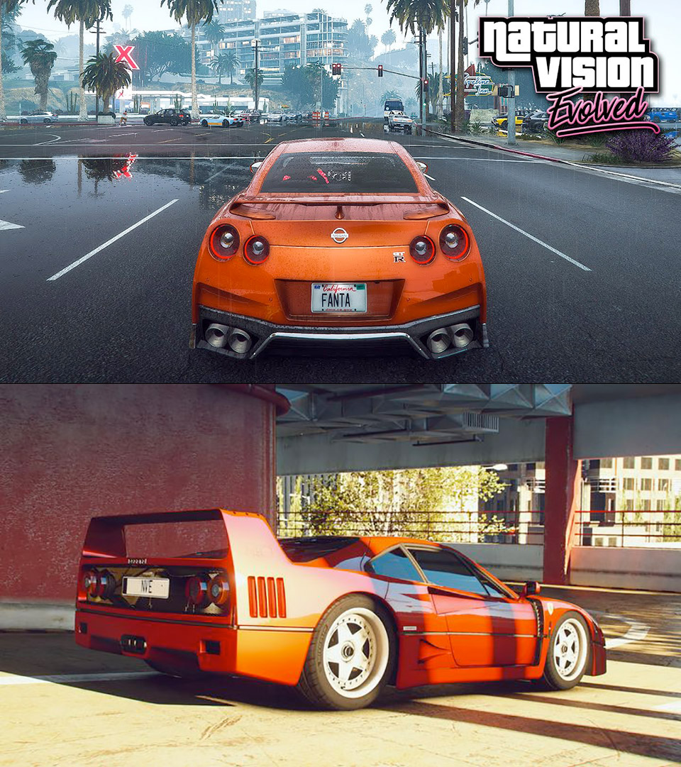 NaturalVision Evolved Mod GTA V