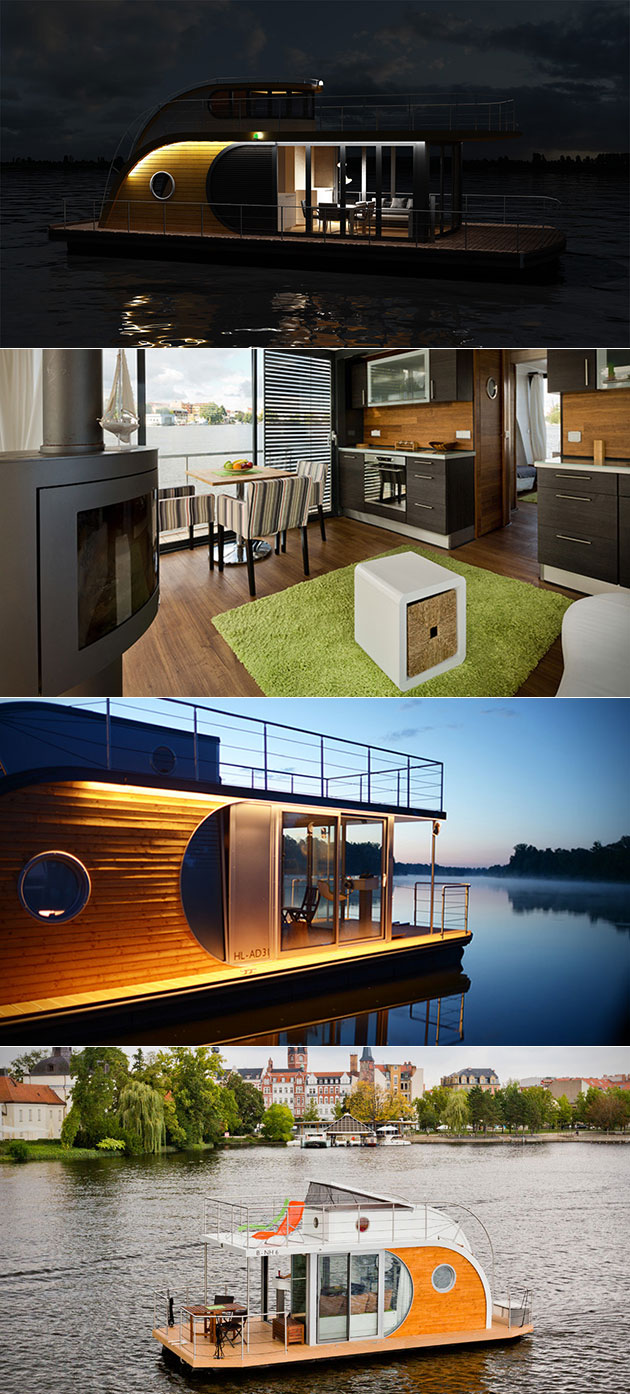 Nautilus Hausboot House Boat