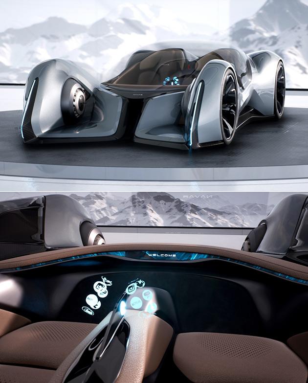 Navar NV01 Autonomous Supercar