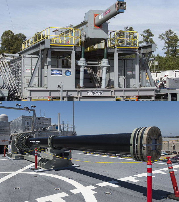 Navy Electromagnetic Railgun