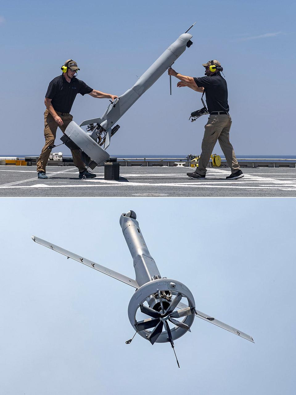 US Navy V-Bat Drone
