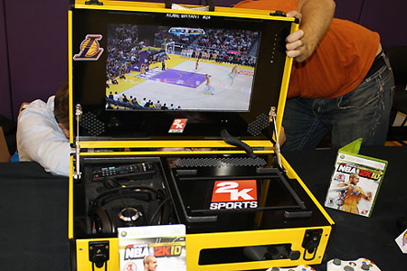 Kobe Bryant Gets Portable Xbox 360 For The Road Techeblog