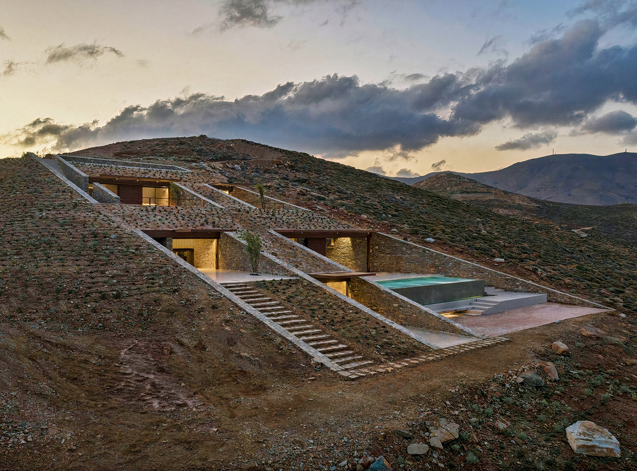 nCAVED House Mold Architects Greece