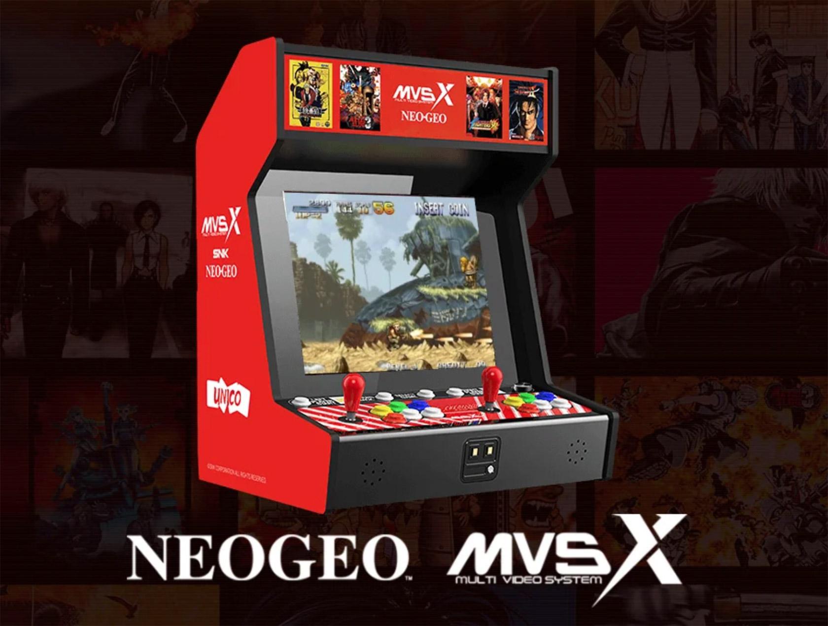 Neo Geo MVSX Home Arcade
