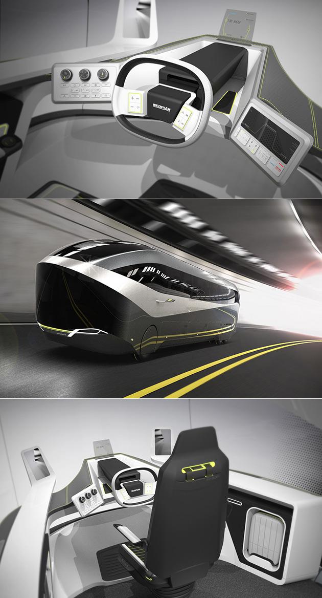 Neoplan Autonomous Bus