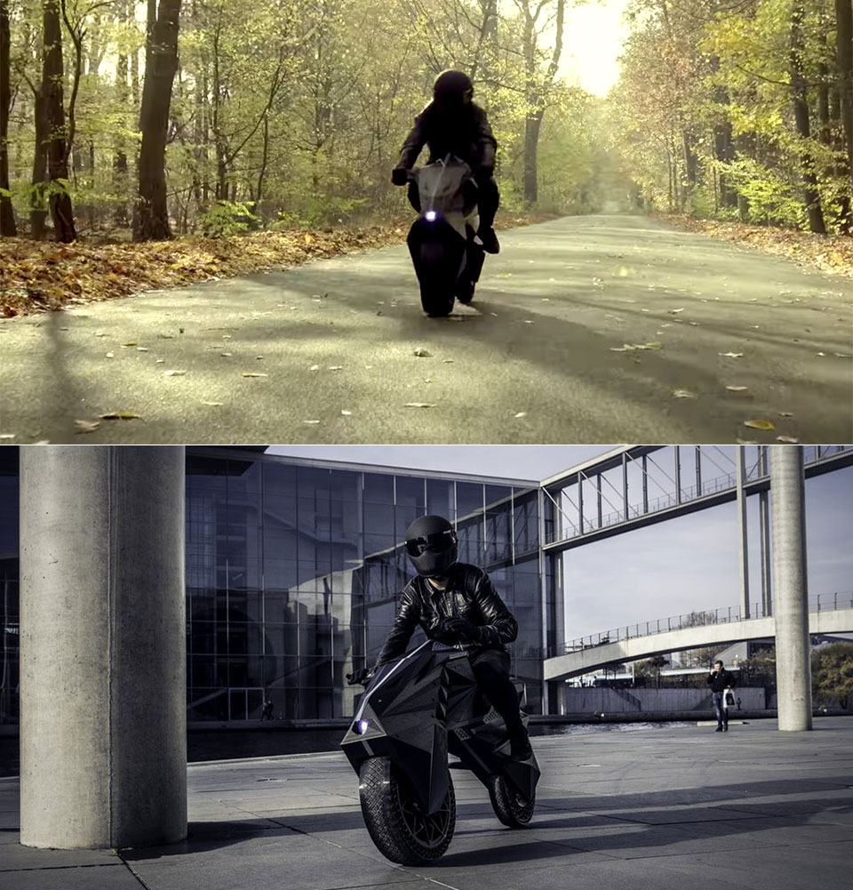 NERA 3D-Printed e-Motorcycle