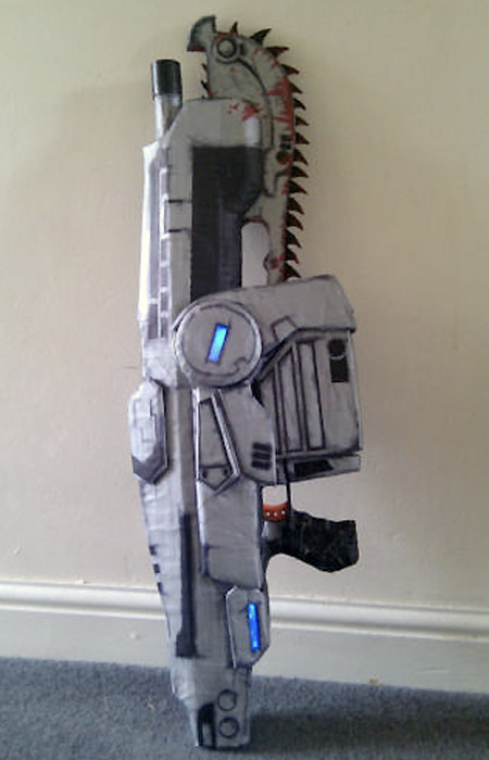 Fully Automatic Nerf Gears Of War Lancer Techeblog