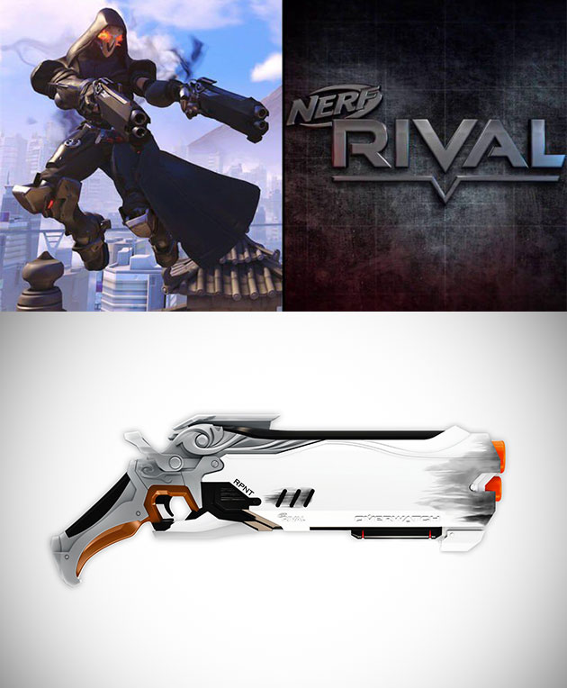 NERF Rival Overwatch Reaper Wight Edition