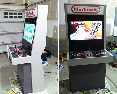 NES Themed Arcade