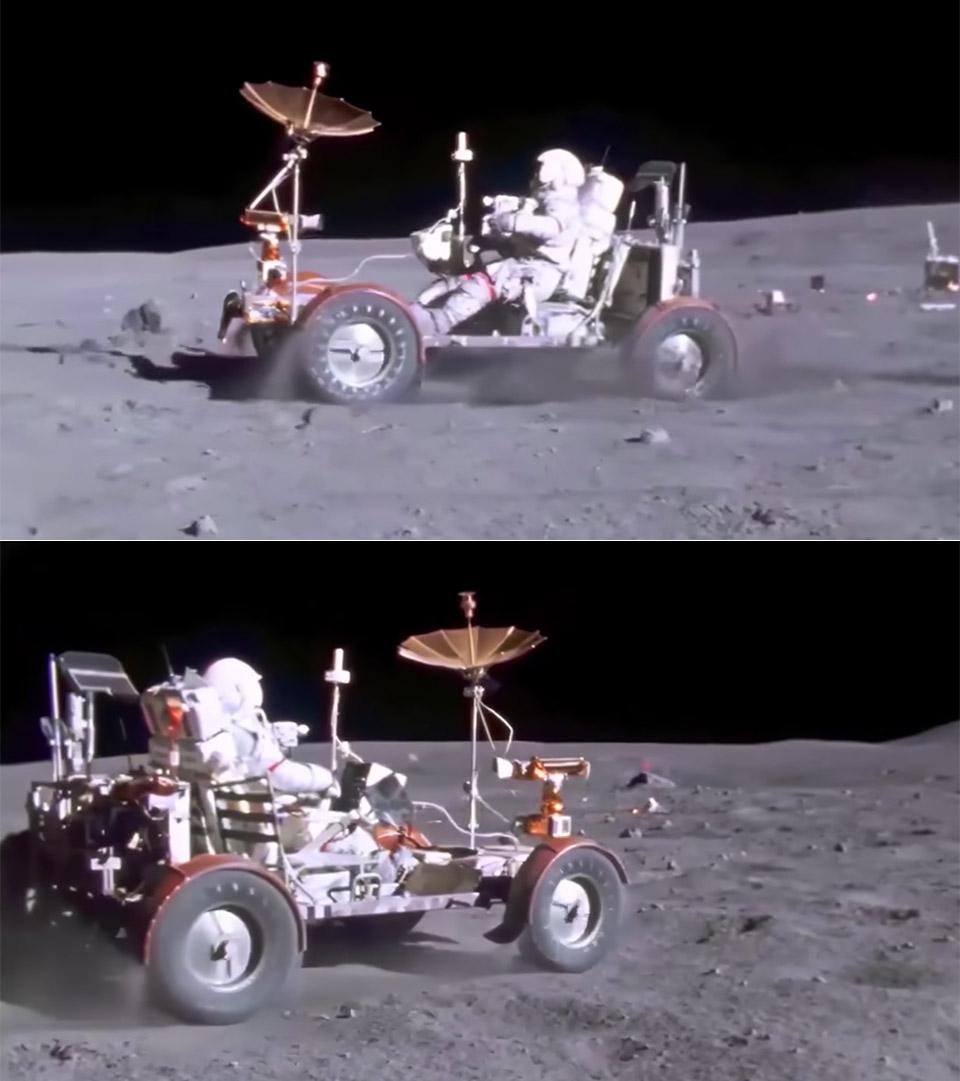 Neural Network Apollo 16 Lunar Rover