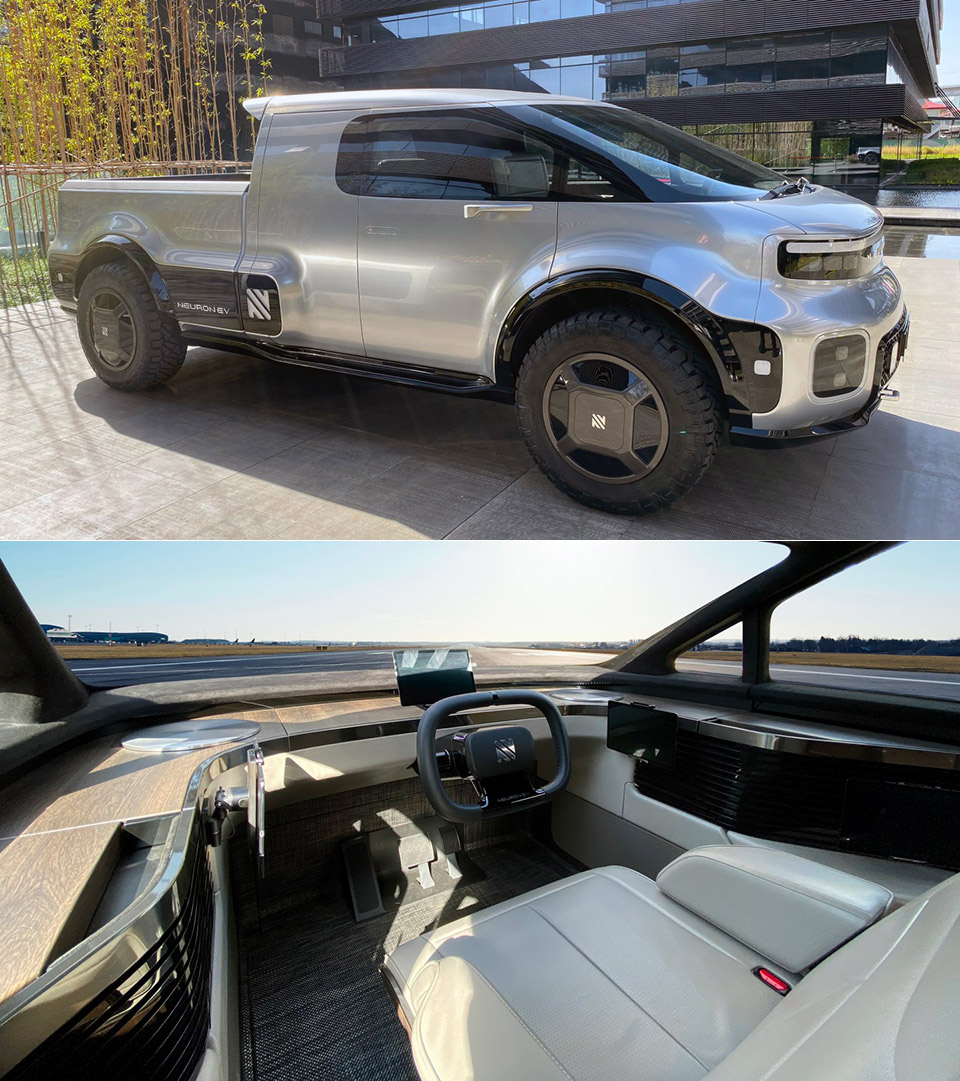 Neuron EV T-ONE Electric Pickup Truck