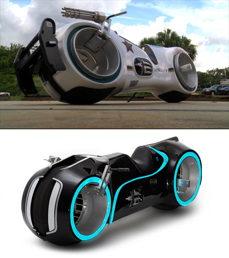 Cool Video Shows NeuTron Bike, a Futuristic TRON-Inspired ...