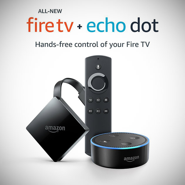 4K Fire TV Echo Dot