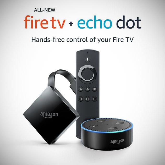 4K Fire TV Echo Dot