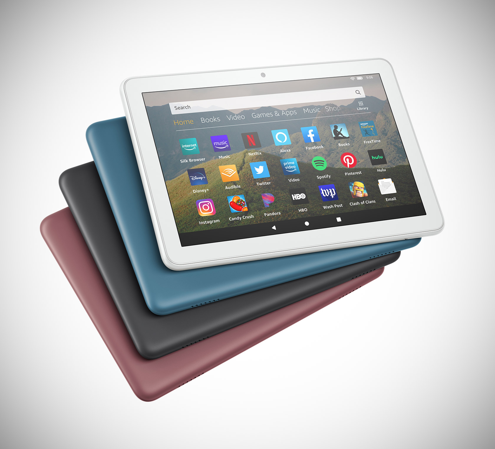 New Amazon Fire HD 8 Tablet