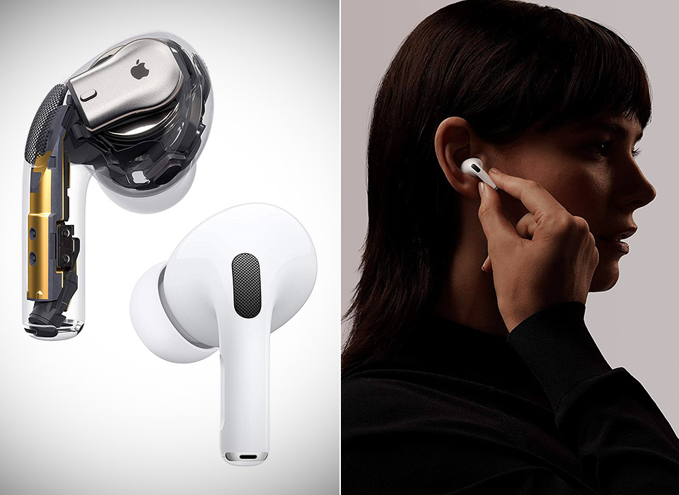 New Apple AirPods Pro Wireless Earbuds 2021