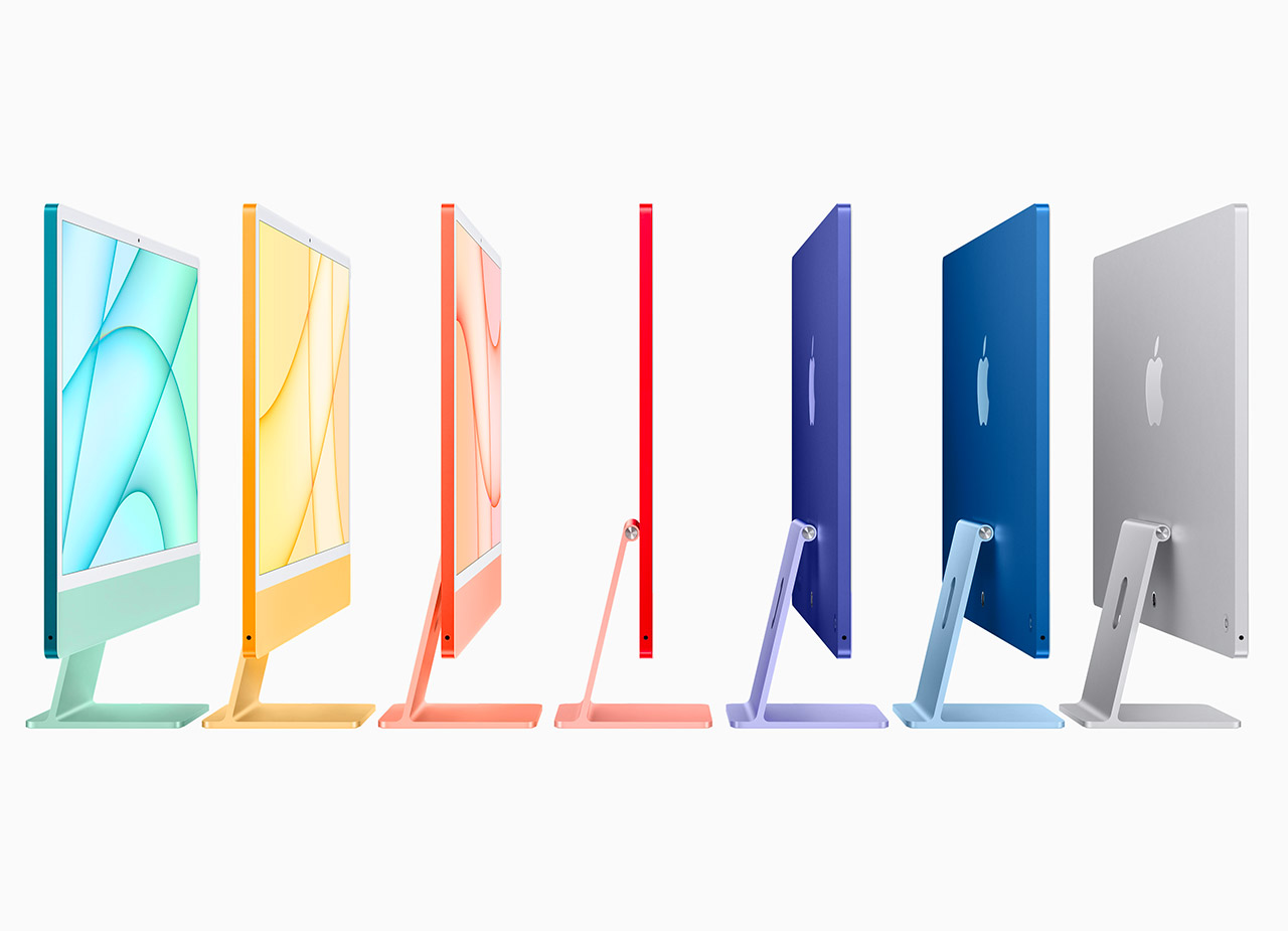 New Apple iMac M1 Retina Colors