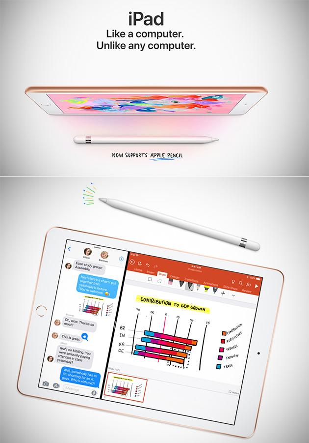 New Apple iPad