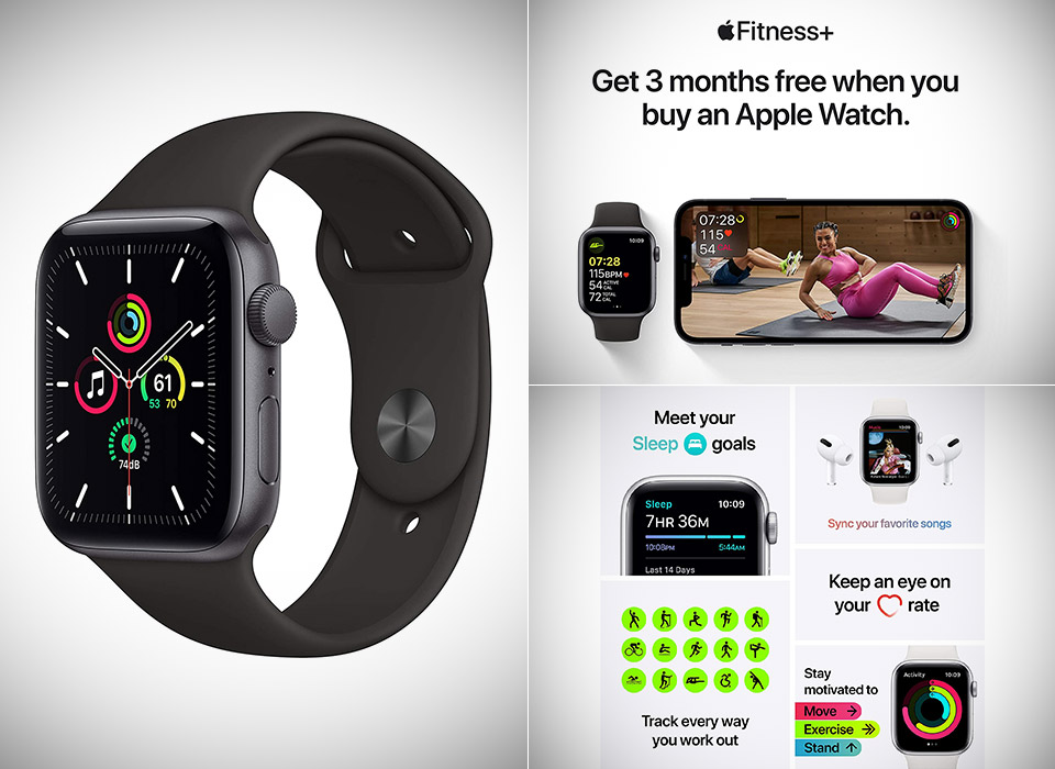 New Apple Watch SE Space Gray