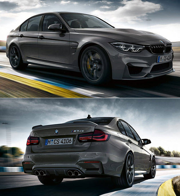 Bmw M3 Cs: All-New BMW M3 CS Revealed, Boasts 453HP And Does 0-60 In