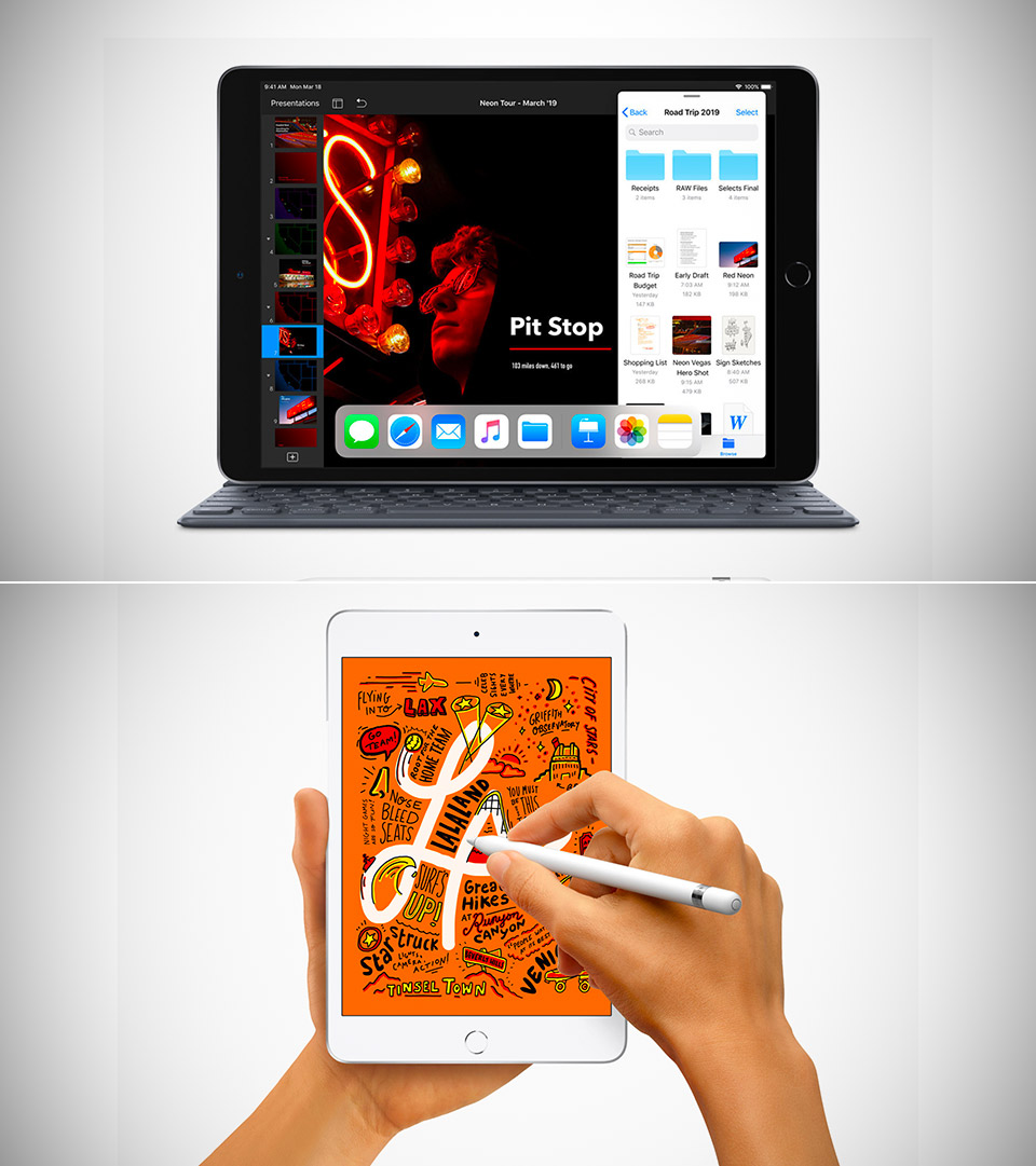 New iPad Air Mini