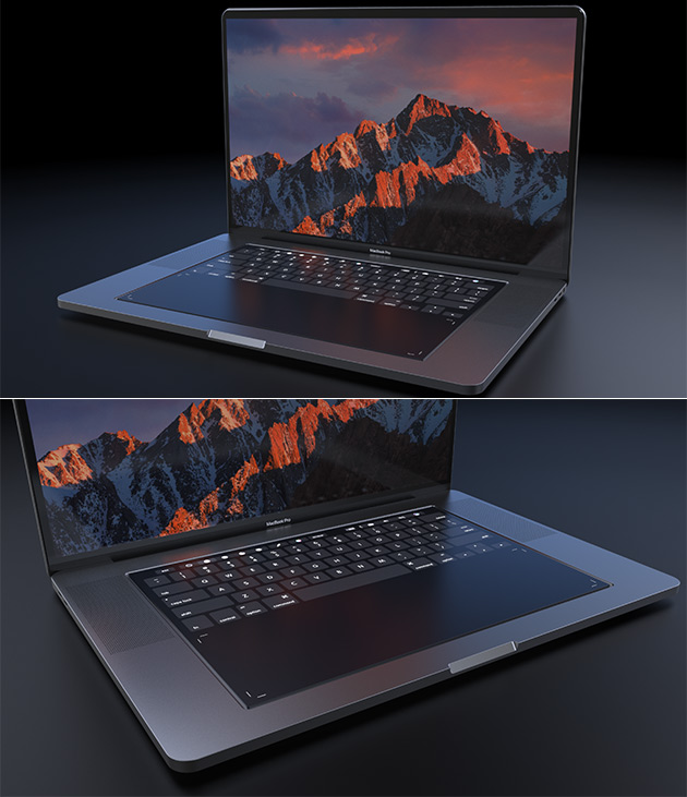 Macbook Pro New Design