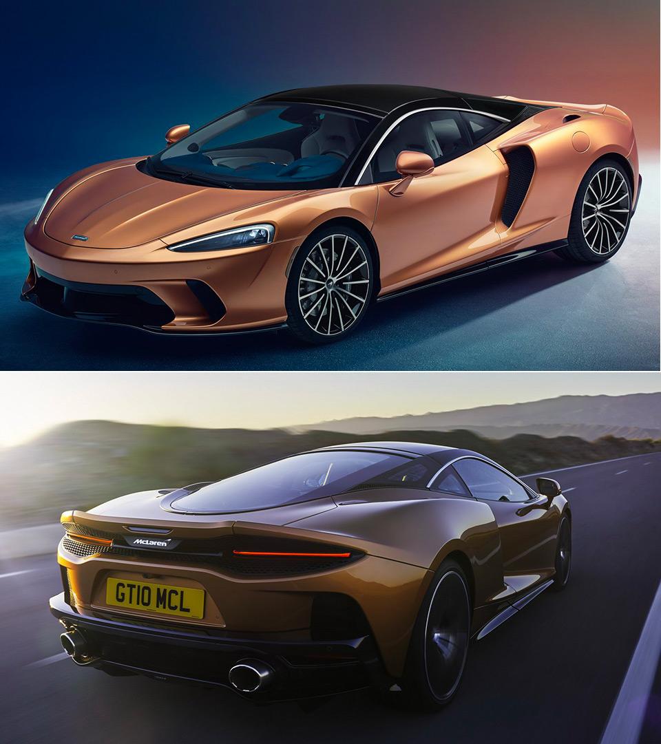 New McLaren GT