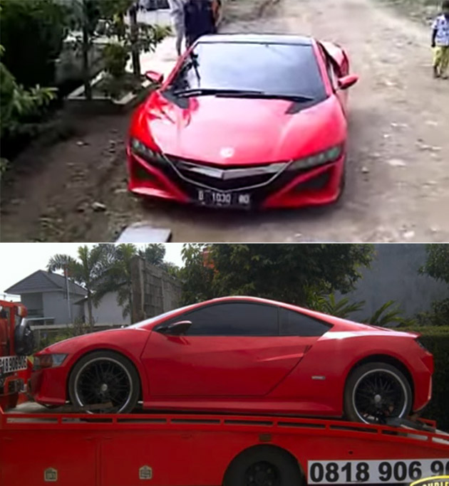 This Is Not A New Facelifted Honda / Acura NSX, Just A