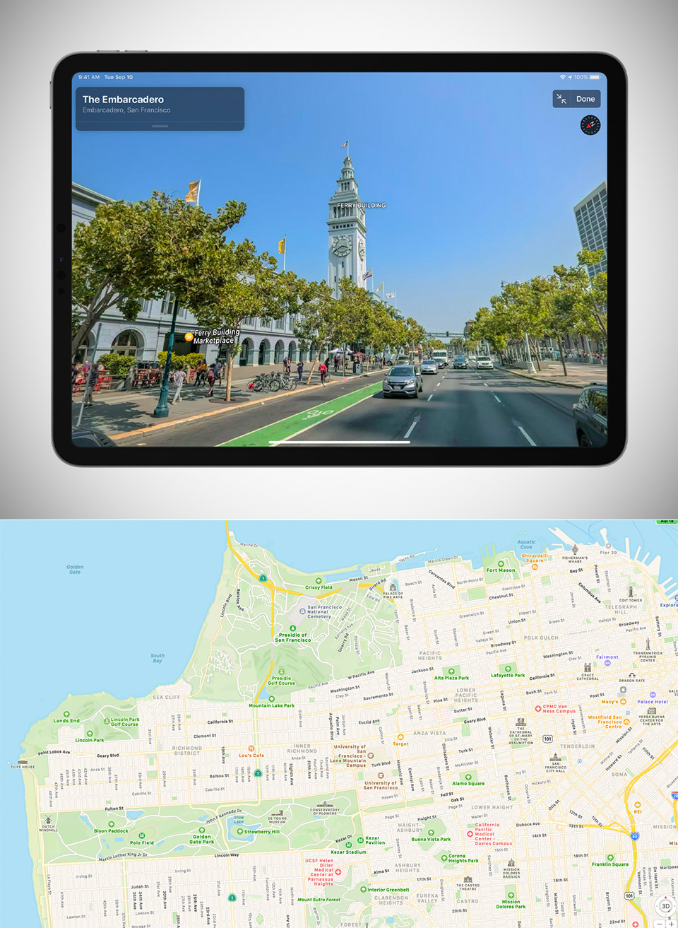 New Redesigned Apple Maps
