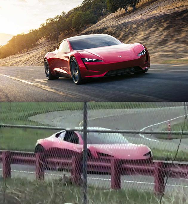 New Tesla Roadster Prototype