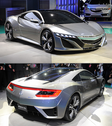New Acura NSX Officially Unveiled At Detroit Auto Show
