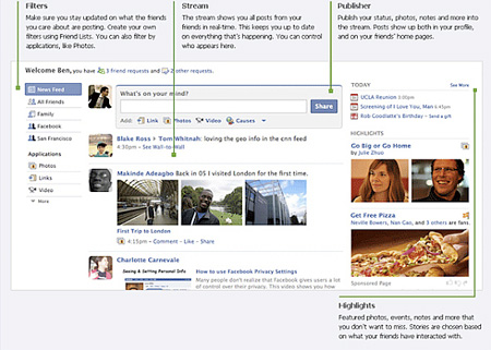 "A new Facebook layout has gone live, and here's one notable change: ""the"