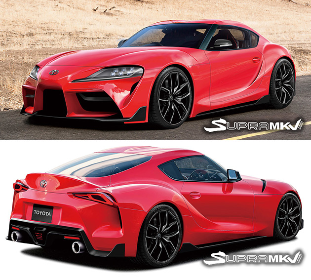 New Toyota Supra Gets Rendered Based On Leaked Images