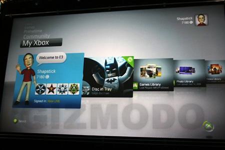 New Xbox 360 Dashboard