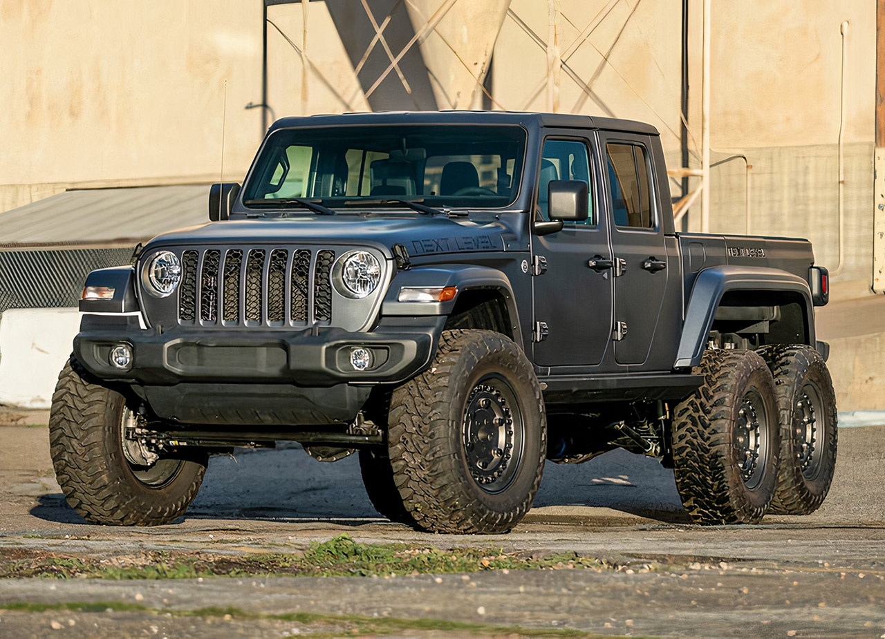 Next Level Jeep Gladiator 6x6