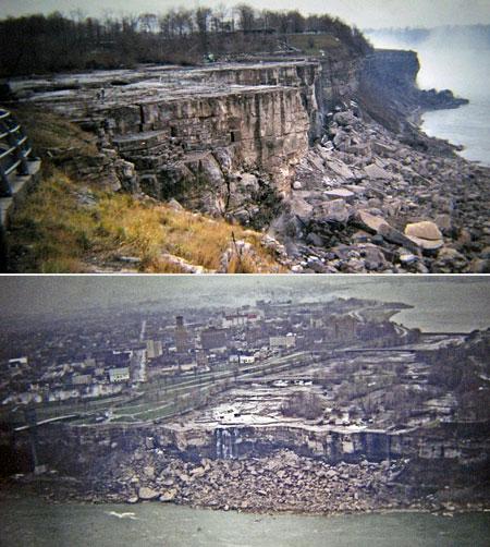 You Won T Believe This Desolate Scene Is Niagara Falls