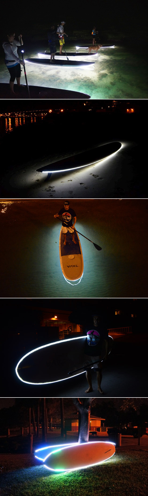 NightSUP LED Paddle Boards