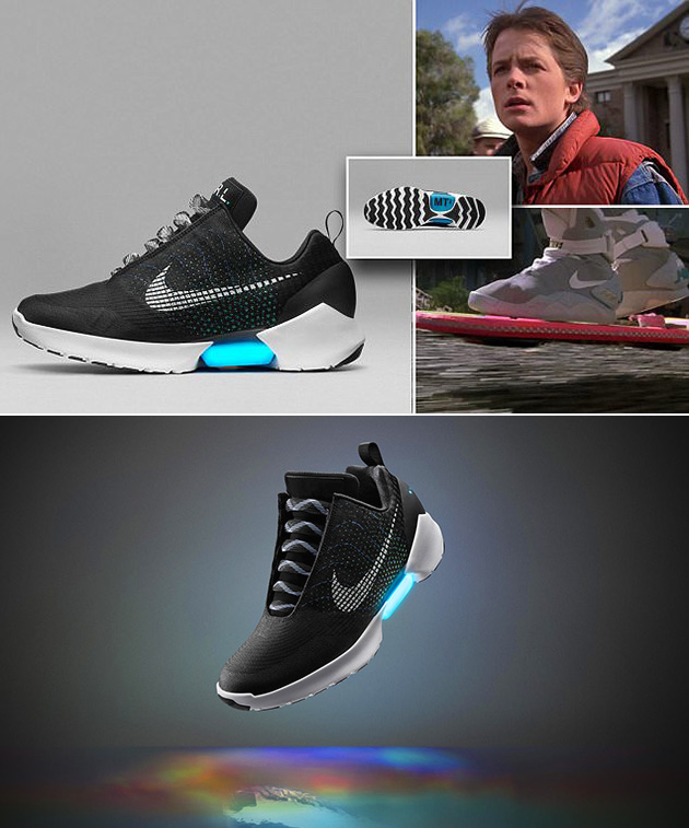 Nike To 1 Real Sneakers 0 Self Lacing The Are Hyperadapt Future Back rTxqw8ar