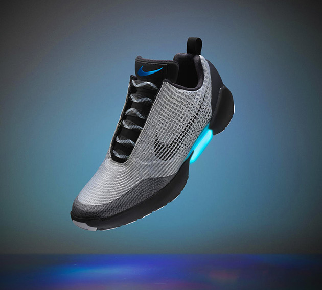 Nike HyperAdapt Power Lacing