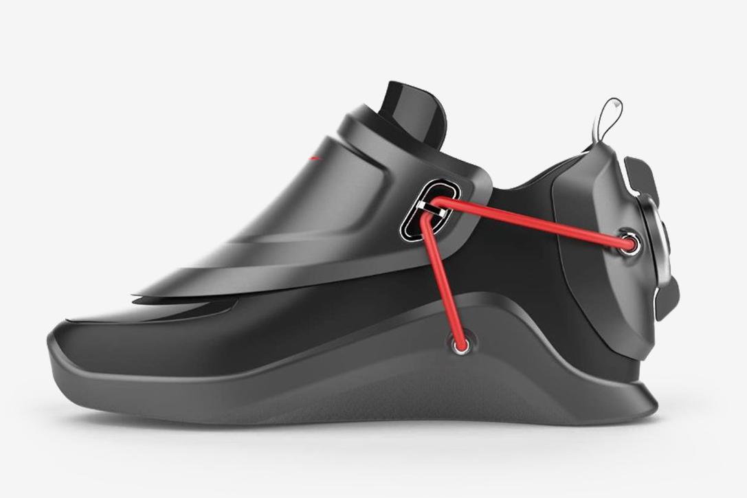 Nike HyperAdapt Self-Lacing Shoe Concept