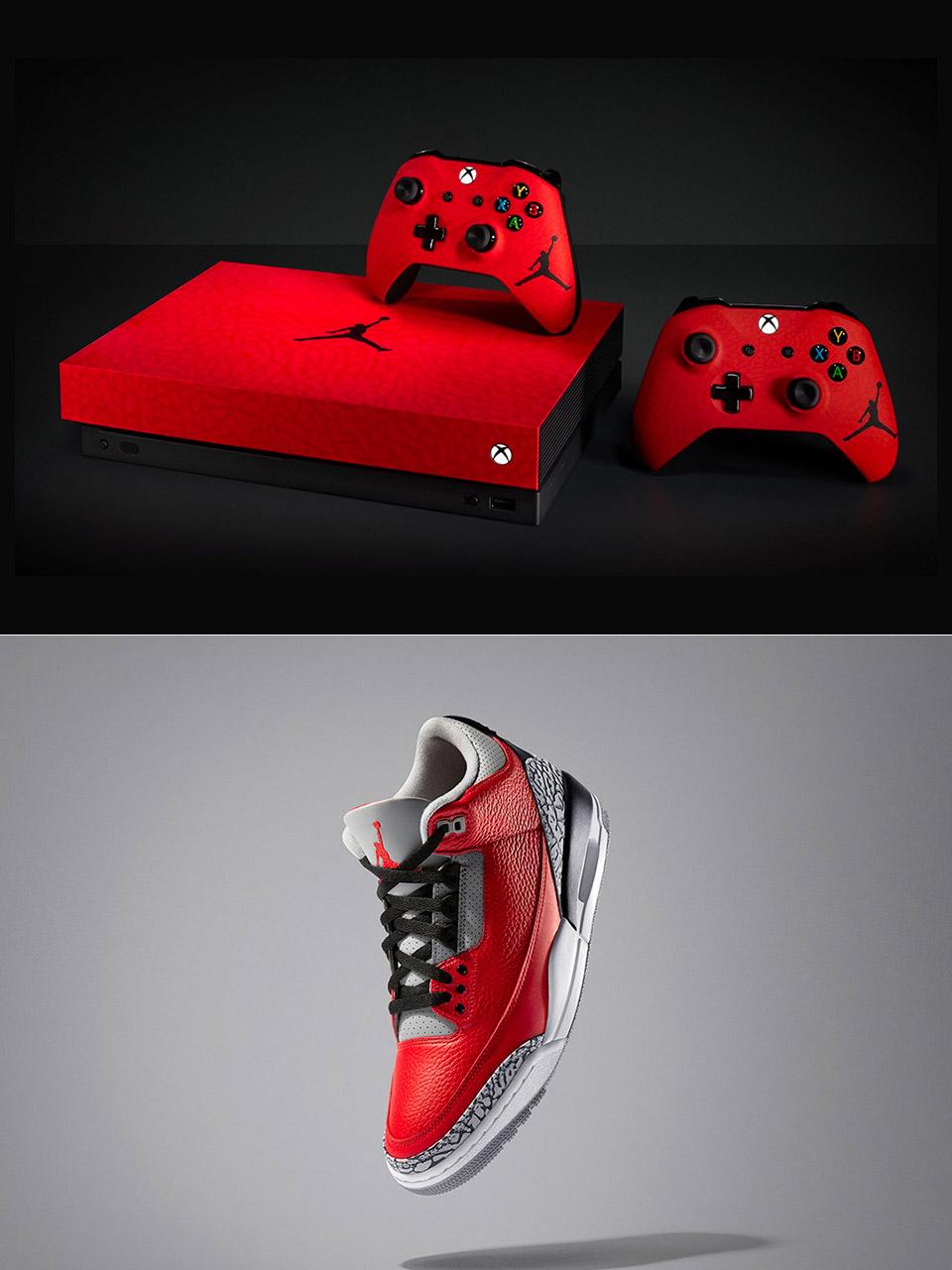 Nike Microsoft Air Jordan 3 Xbox One X