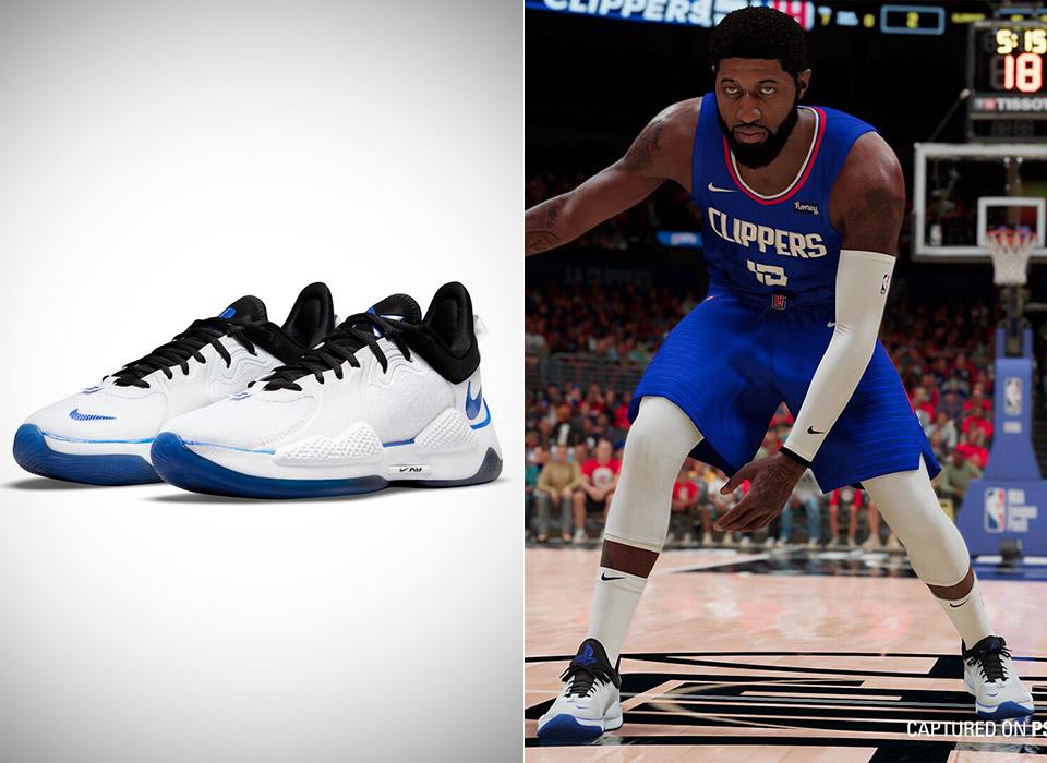 Nike Paul George PG5 Sony PlayStation 5 Sneakers