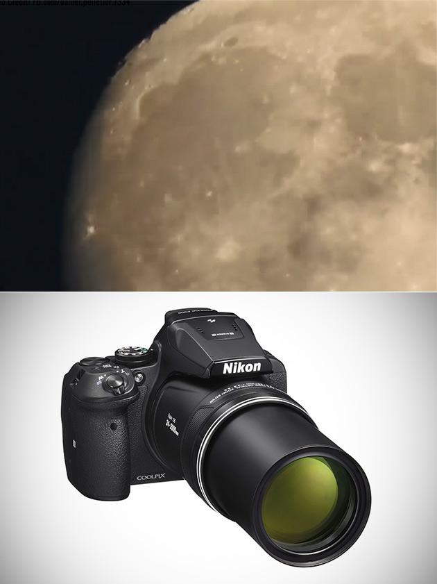 Nikon P900 Zoom Moon