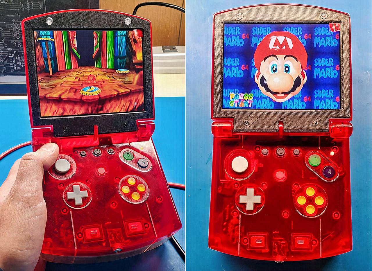 Nintendo 64 Portable N64 SP Version 2