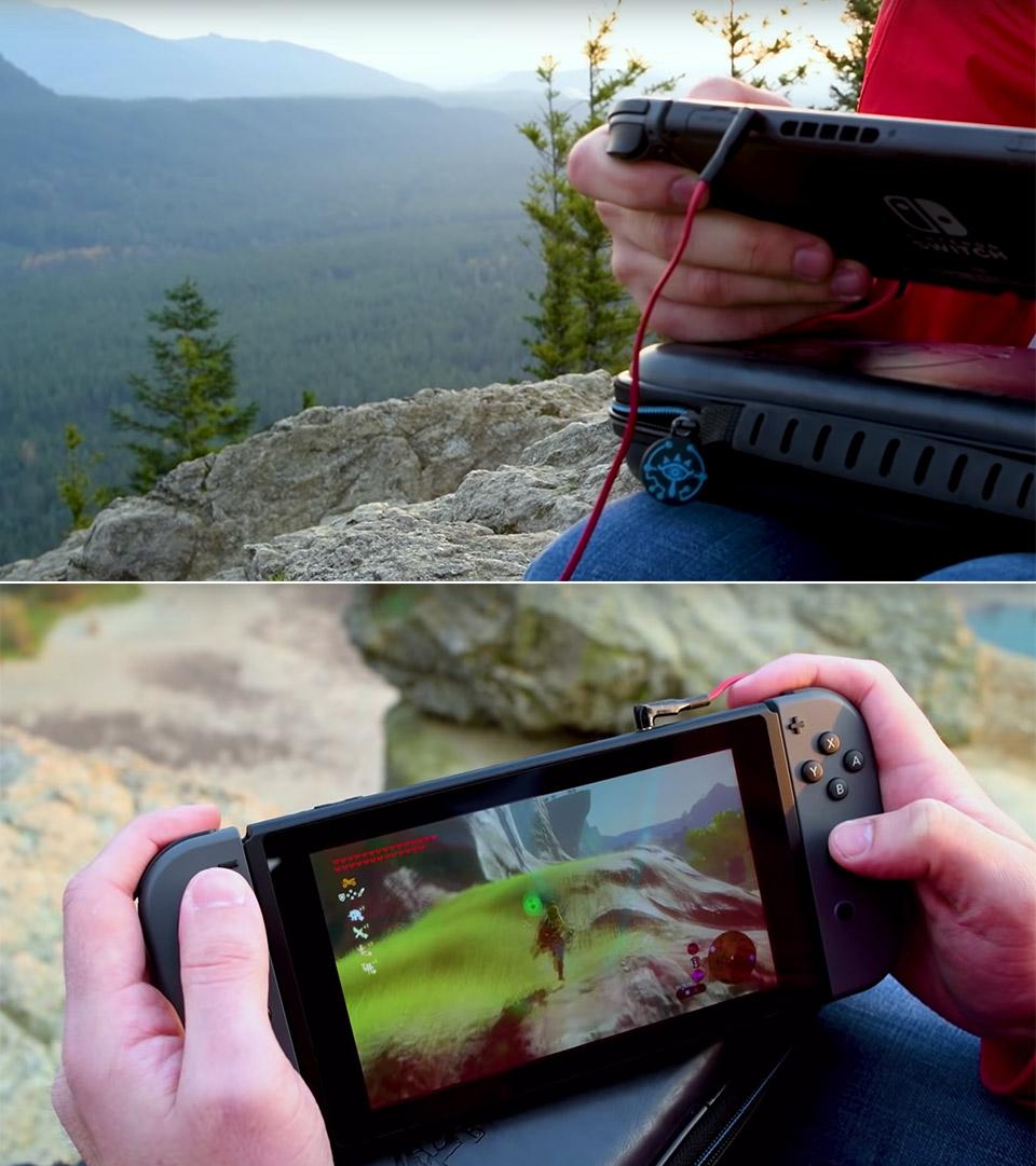 Nintendo ASMR Zelda Breath of the Wild