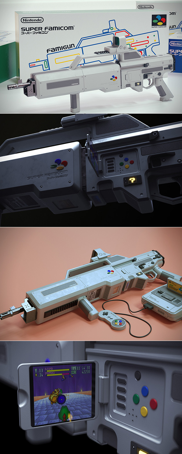 Nintendo Famigun Light Gun
