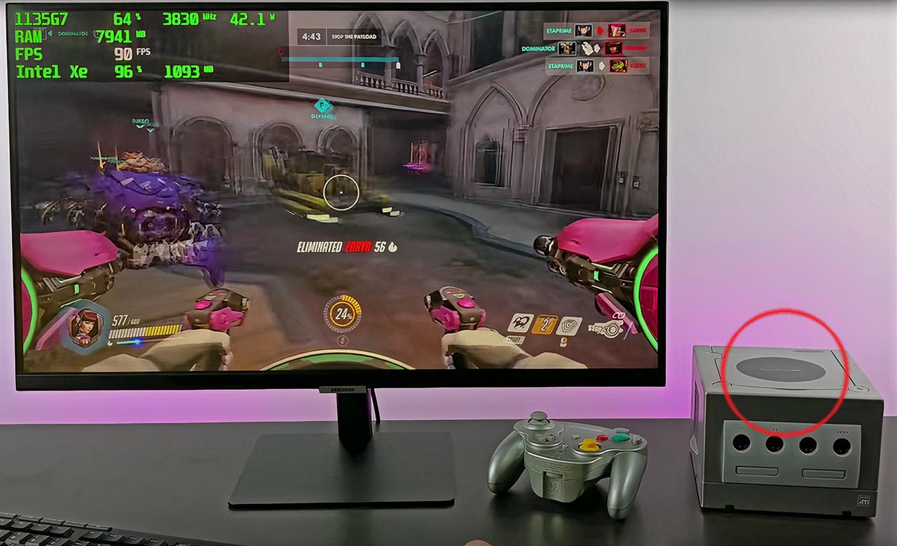 Nintendo GameCube Turned Gaming PC