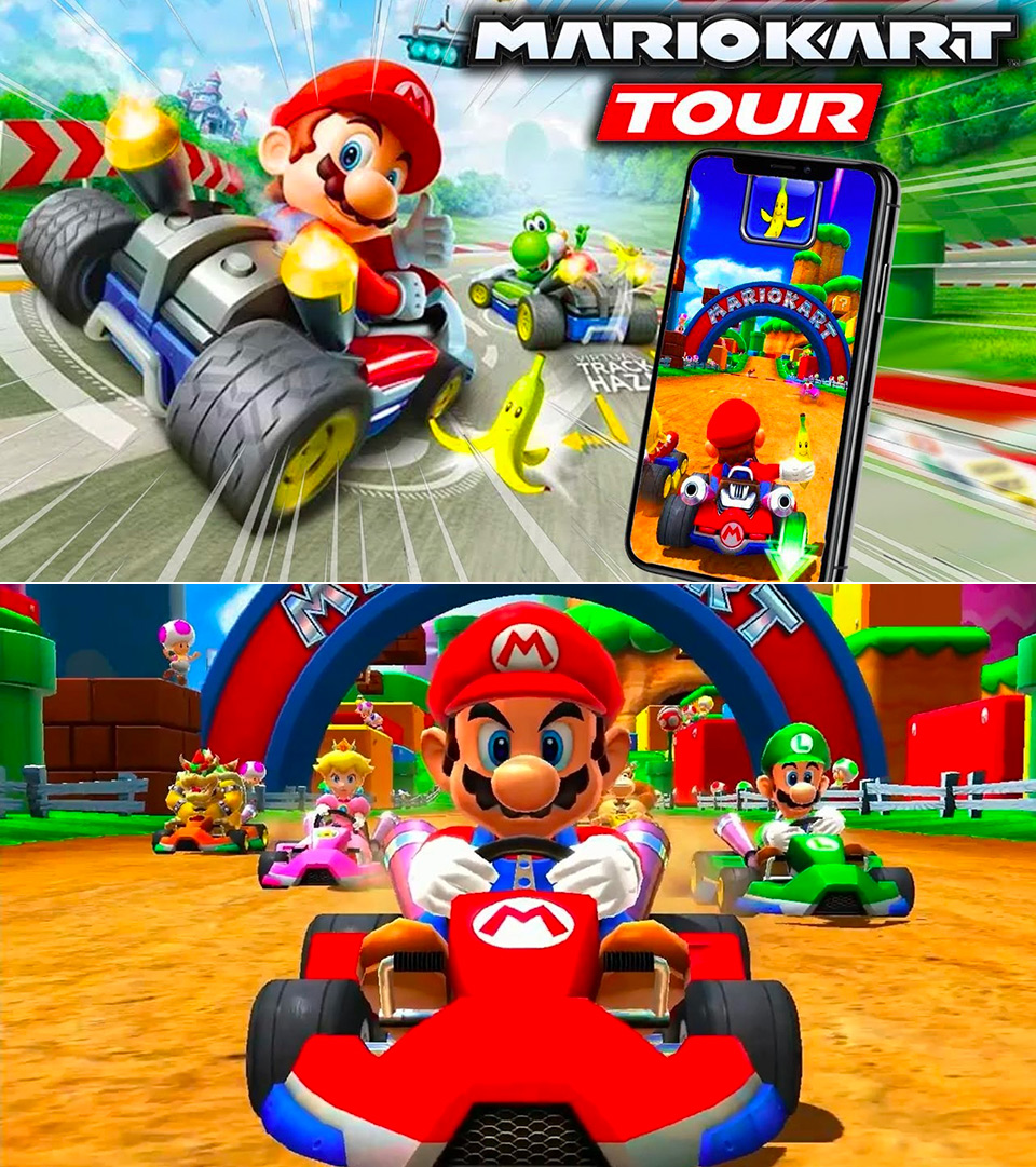Nintendo Officially Announces Mario Kart Tour Closed Beta ...